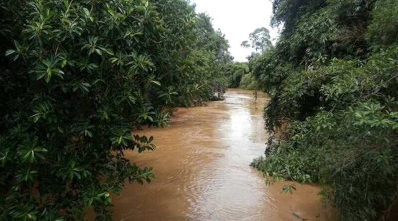 Aspecto do rio Carangola