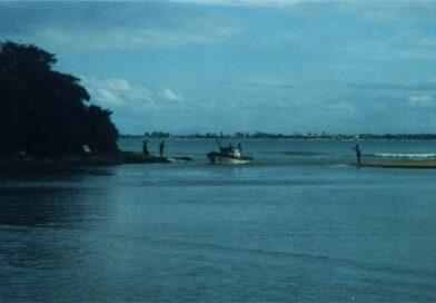 Foz do rio das Ostras. Foto do autor