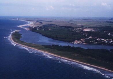Foz do rio Itabapoana