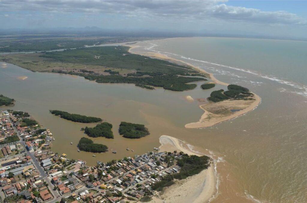 Foz do rio Paraíba do Sul
